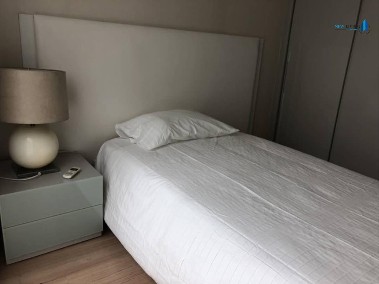 New Living Thailand Agency's For rent, The Address Pathumwan, near Ratchathewi BTS, 2 bedrooms, 60 sq.m., east, fully furnished 6