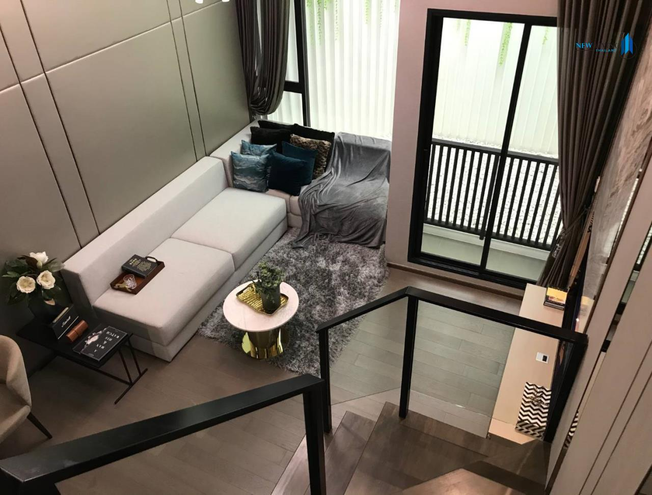 New Living Thailand Agency's Sell Down Payment, Park Origin Ratchathewi ** 1 Deplex 34 sq.m. high floor near BTS Ratchathewi 2