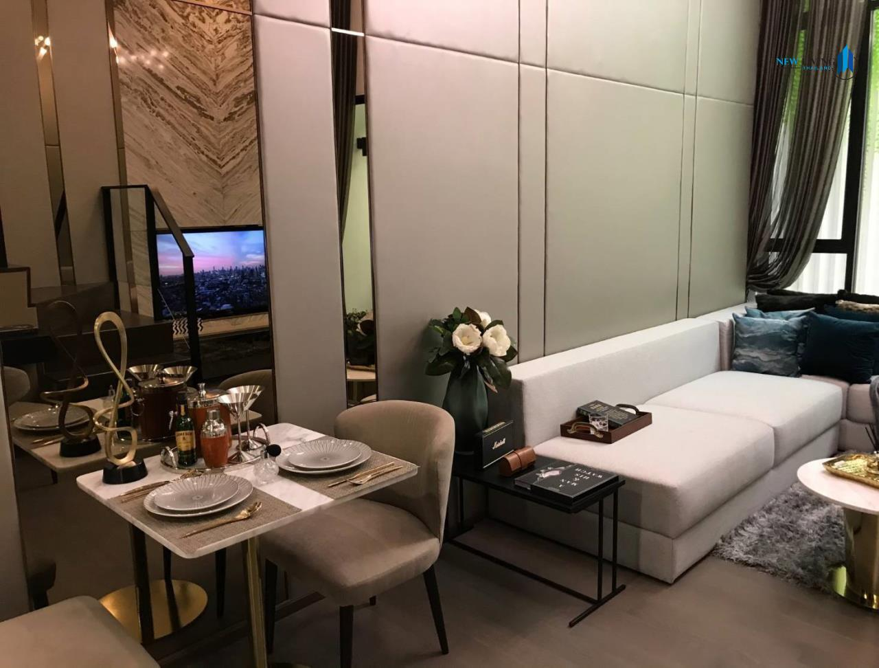 New Living Thailand Agency's Sell Down Payment, Park Origin Ratchathewi ** 1 Deplex 34 sq.m. high floor near BTS Ratchathewi 4