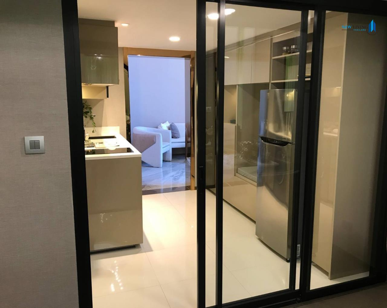 New Living Thailand Agency's Sell Down Payment, Park Origin Ratchathewi ** 1 Deplex 34 sq.m. high floor near BTS Ratchathewi 7