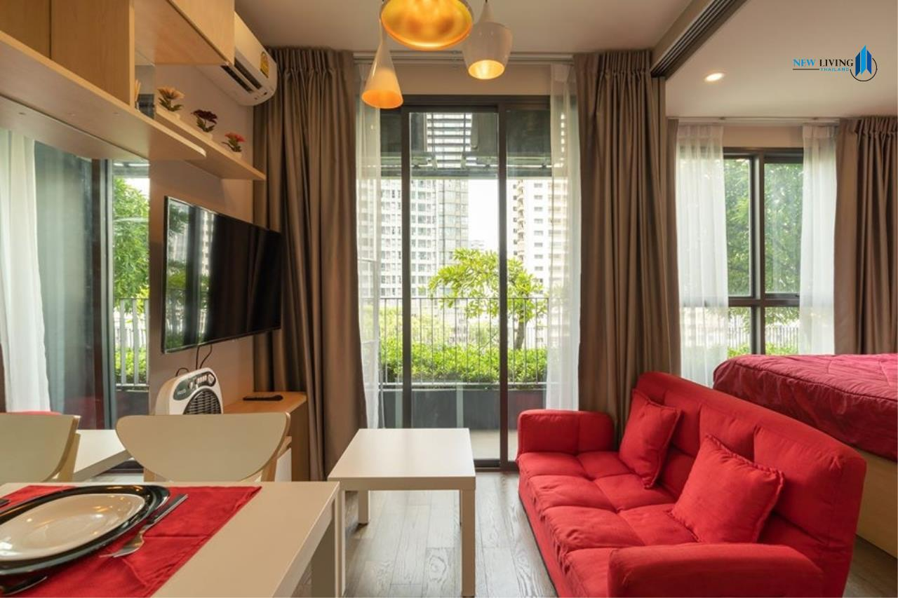 New Living Thailand Agency's *** Urgent rent !!! IDEO Q Siam-Ratchathewi, 1 bedroom, 30 sq.m., beautiful room, garden view *** 1