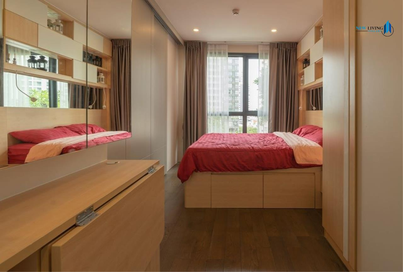 New Living Thailand Agency's *** Urgent rent !!! IDEO Q Siam-Ratchathewi, 1 bedroom, 30 sq.m., beautiful room, garden view *** 4