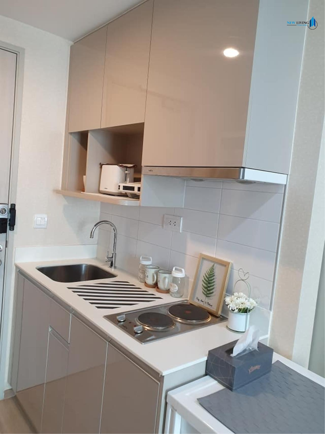 New Living Thailand Agency's +++ Urgent rent !! +++ Ideo Q Chula Samyan, fully furnished 1 bedroom , 33 sq.m.,+++ 8