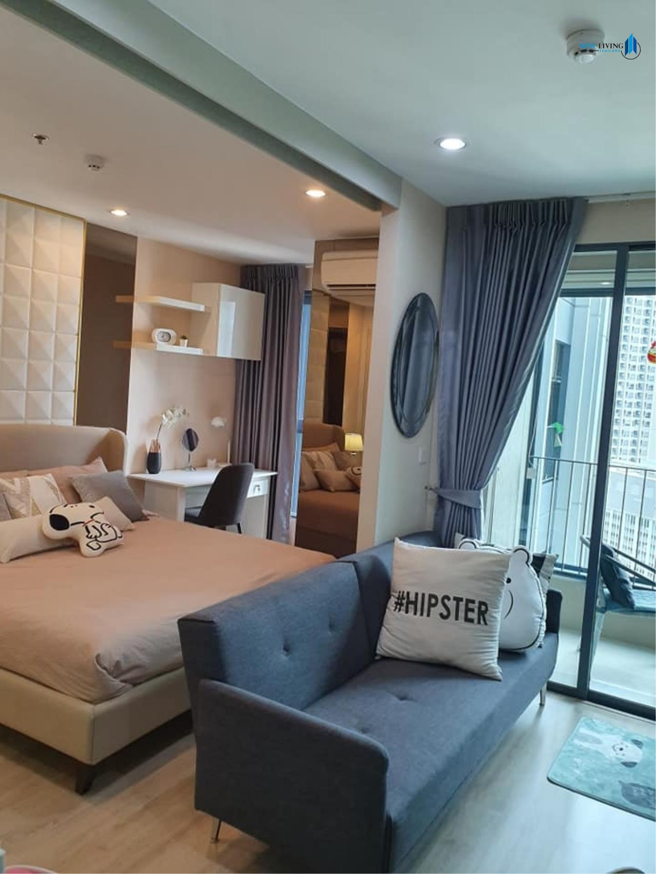 New Living Thailand Agency's +++ Urgent rent !! +++ Ideo Q Chula Samyan, fully furnished 1 bedroom , 33 sq.m.,+++ 3