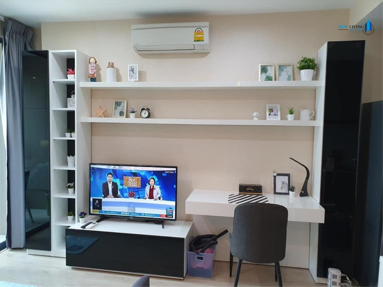 New Living Thailand Agency's +++ Urgent rent !! +++ Ideo Q Chula Samyan, fully furnished 1 bedroom , 33 sq.m.,+++ 5