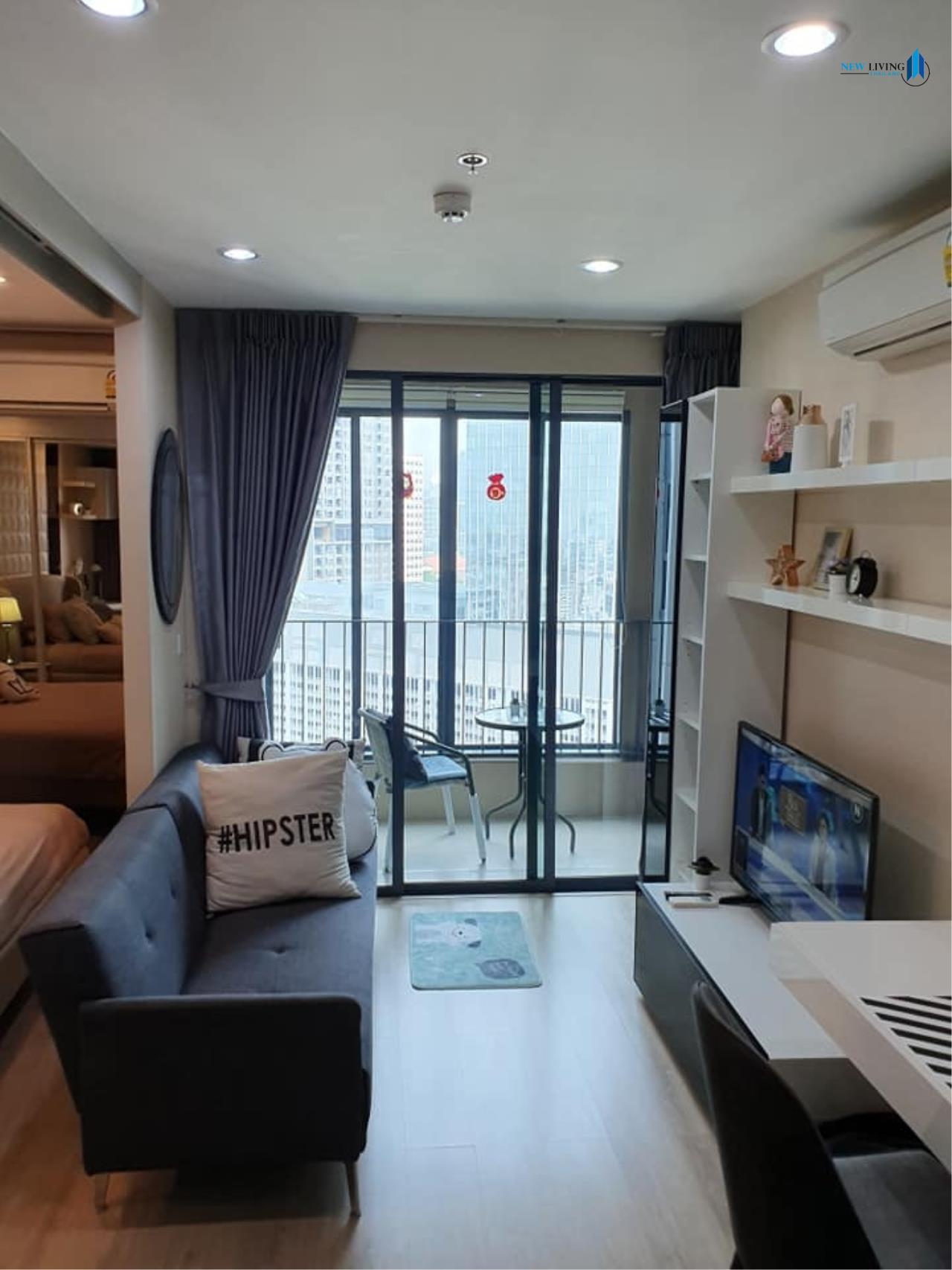 New Living Thailand Agency's +++ Urgent rent !! +++ Ideo Q Chula Samyan, fully furnished 1 bedroom , 33 sq.m.,+++ 6