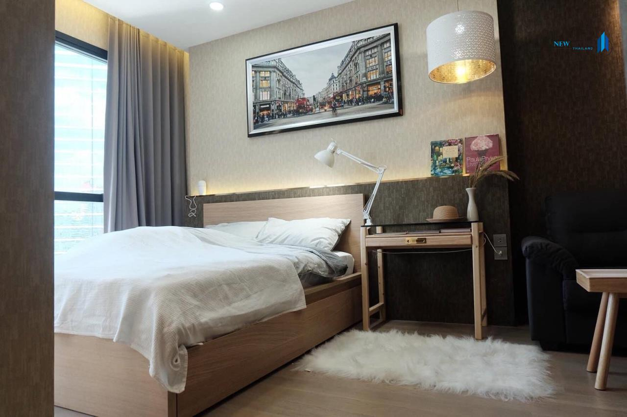 New Living Thailand Agency's +++ Urgent rent !!! Ashton Chula-Silom Studio room 24.50 sq m, beautiful room, good view +++ 1