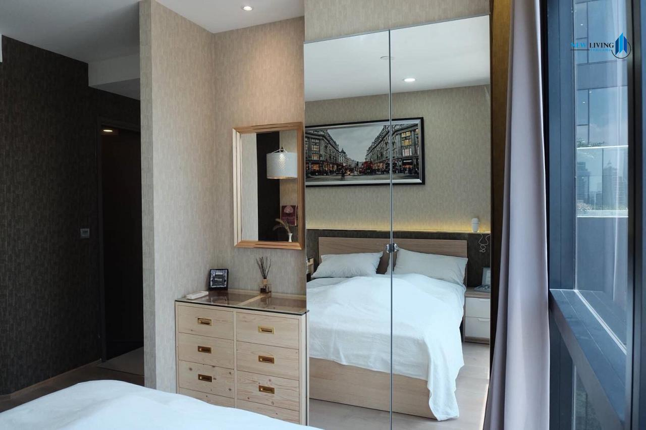 New Living Thailand Agency's +++ Urgent rent !!! Ashton Chula-Silom Studio room 24.50 sq m, beautiful room, good view +++ 6