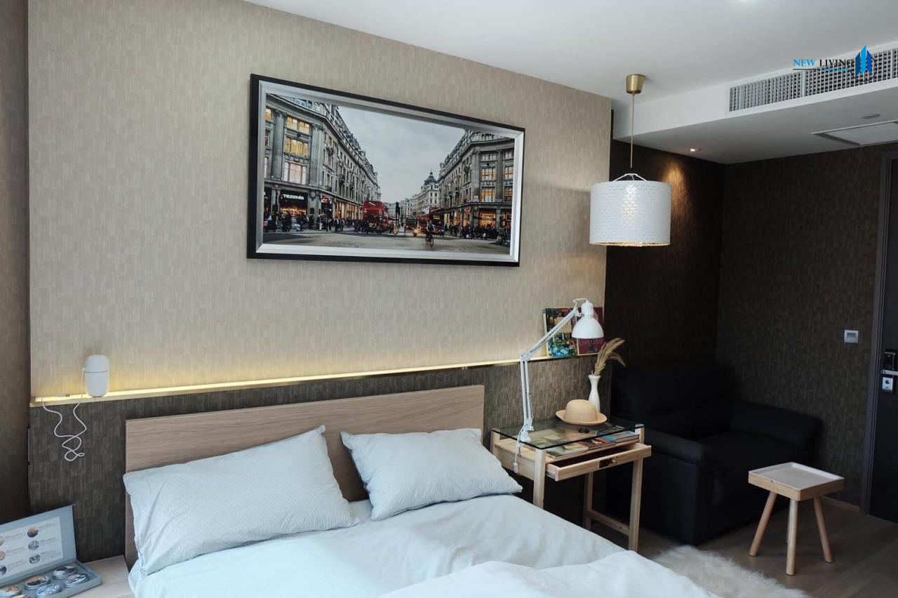 New Living Thailand Agency's +++ Urgent rent !!! Ashton Chula-Silom Studio room 24.50 sq m, beautiful room, good view +++ 4