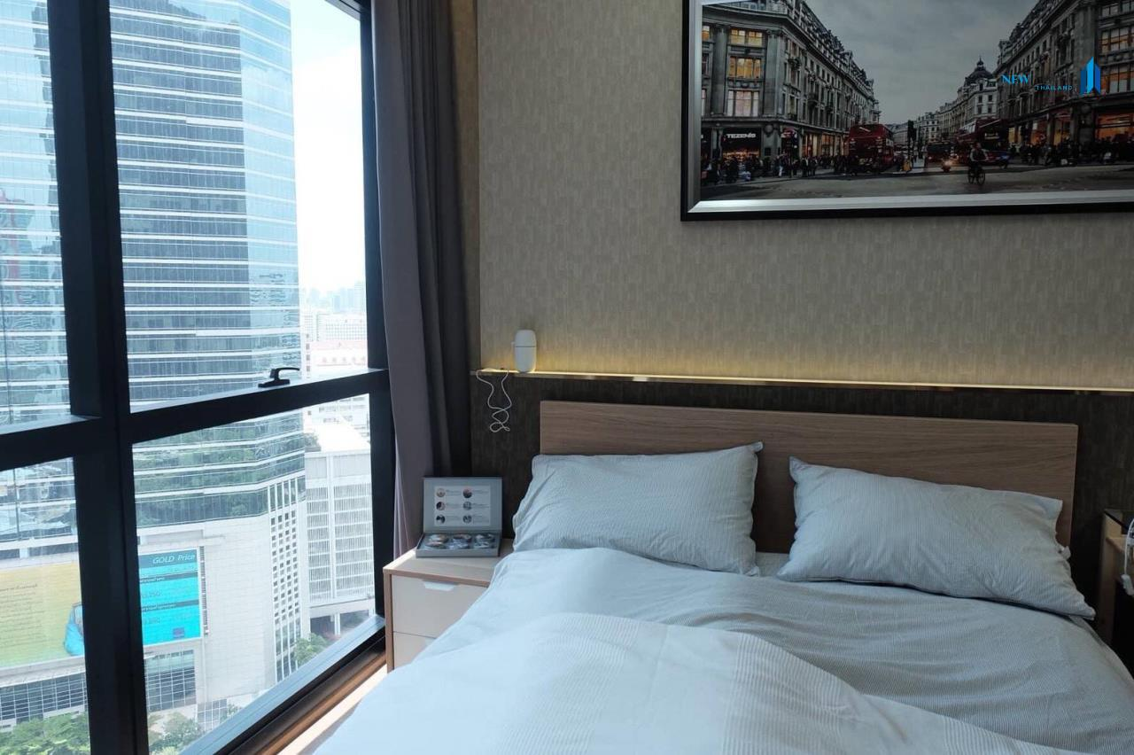 New Living Thailand Agency's +++ Urgent rent !!! Ashton Chula-Silom Studio room 24.50 sq m, beautiful room, good view +++ 3