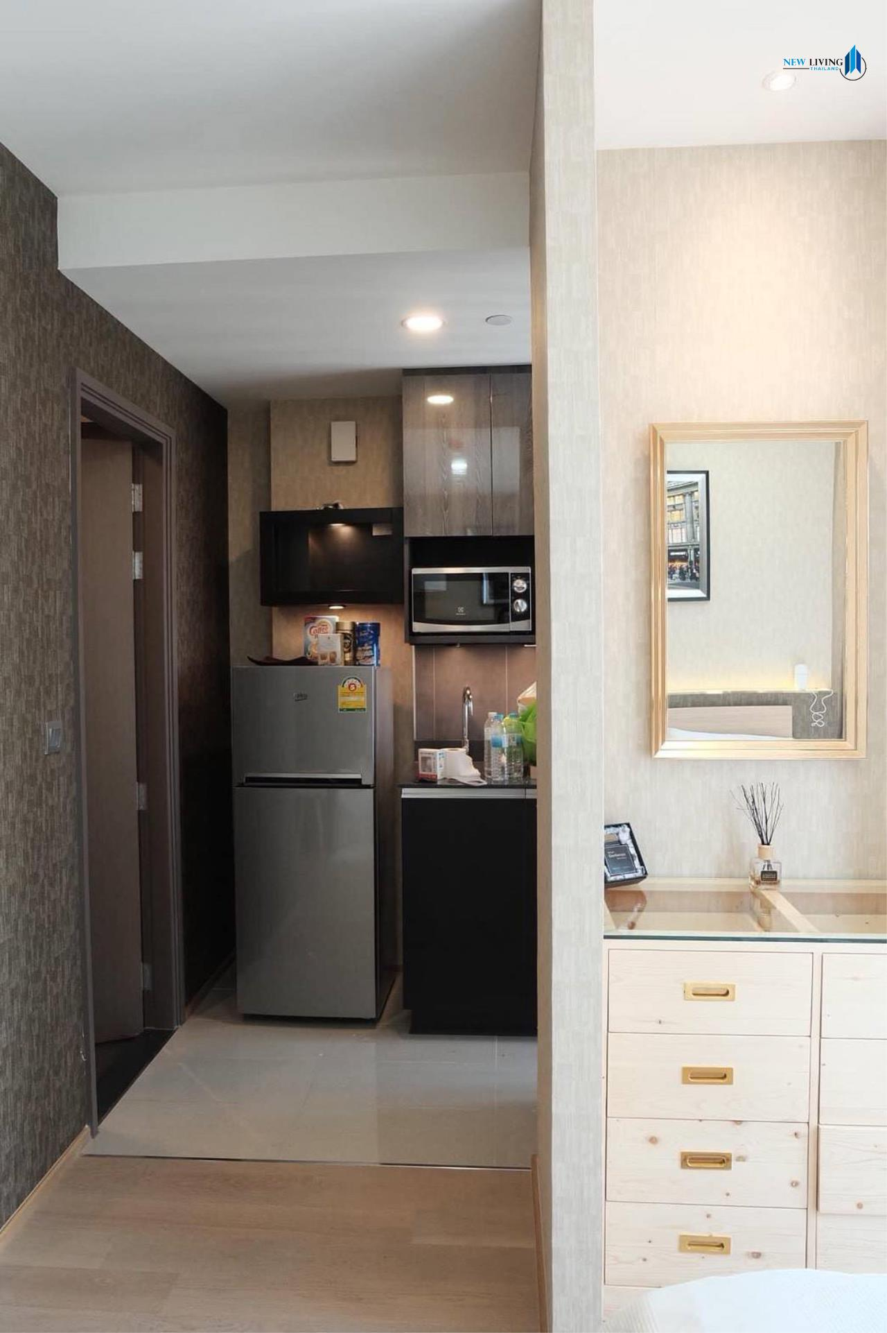 New Living Thailand Agency's +++ Urgent rent !!! Ashton Chula-Silom Studio room 24.50 sq m, beautiful room, good view +++ 8