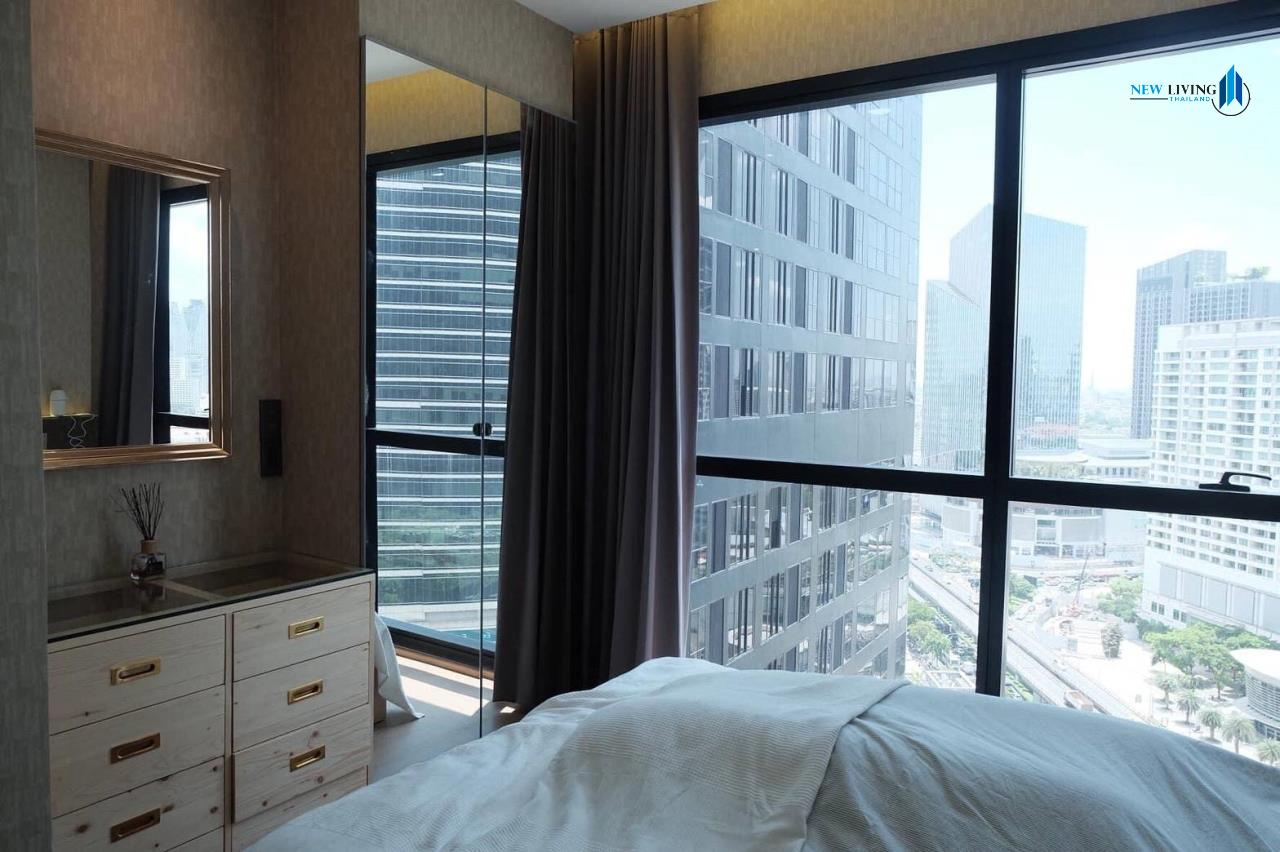 New Living Thailand Agency's +++ Urgent rent !!! Ashton Chula-Silom Studio room 24.50 sq m, beautiful room, good view +++ 5