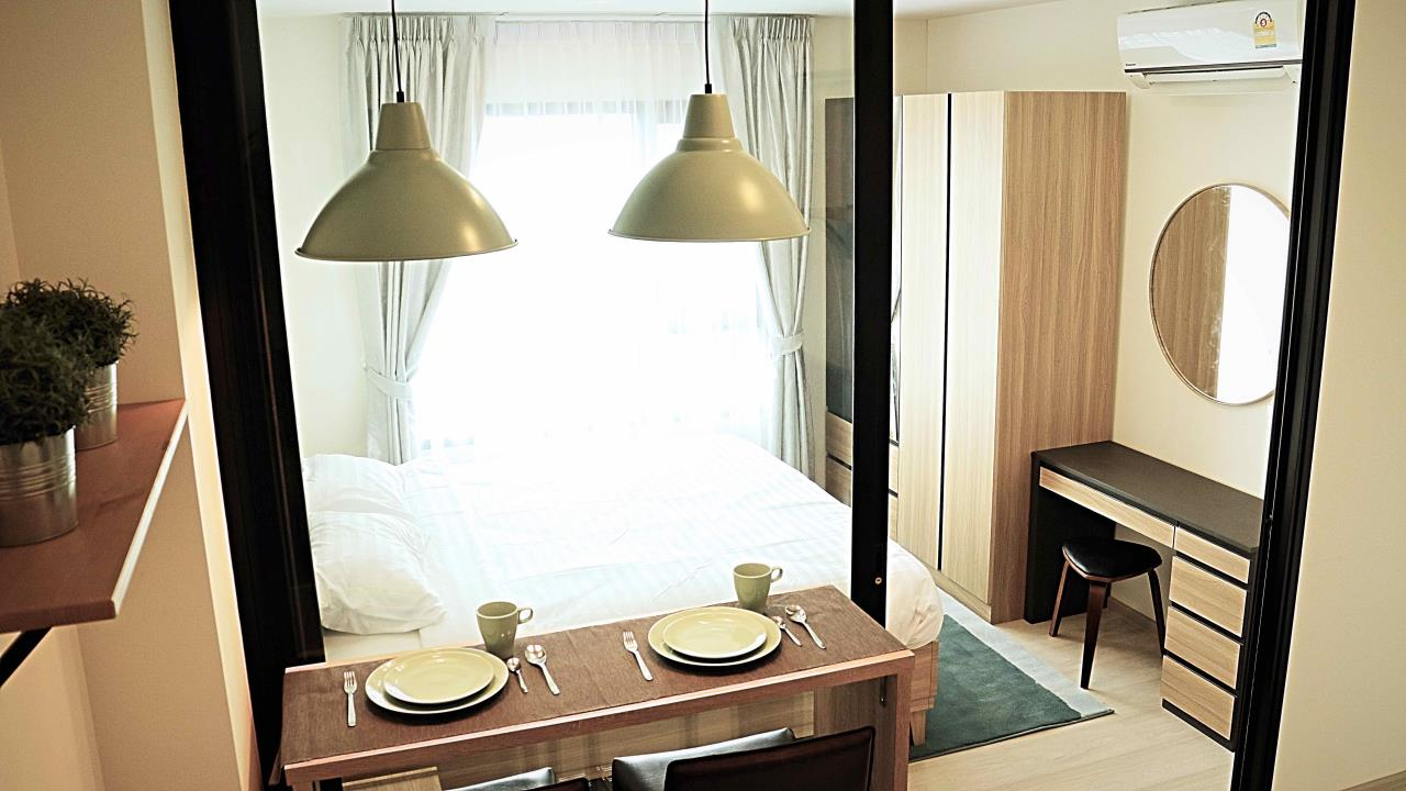 Wise Real Estate and Consultancy Agency's 1 Bedroom Life Asok For Rent -180meter to MRT Phetburi  1