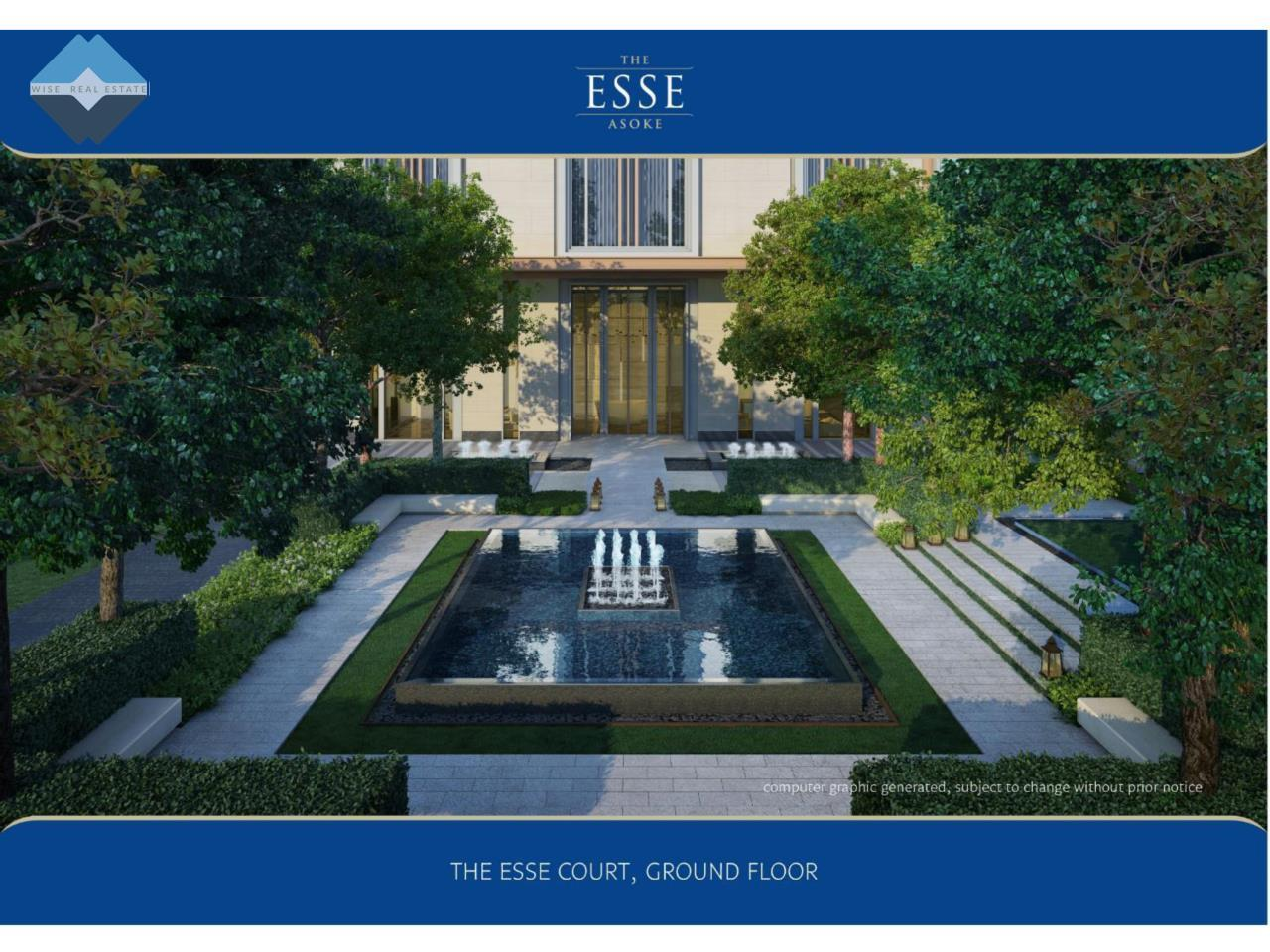 Wise Real Estate and Consultancy Agency's 1 Bedroom - The Esse Asoke 6