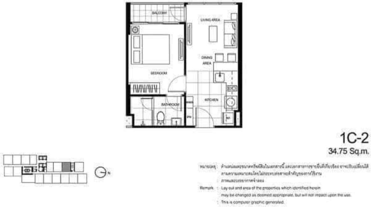 Property Thai Sale Agency's The Line Asoke Rachada 4