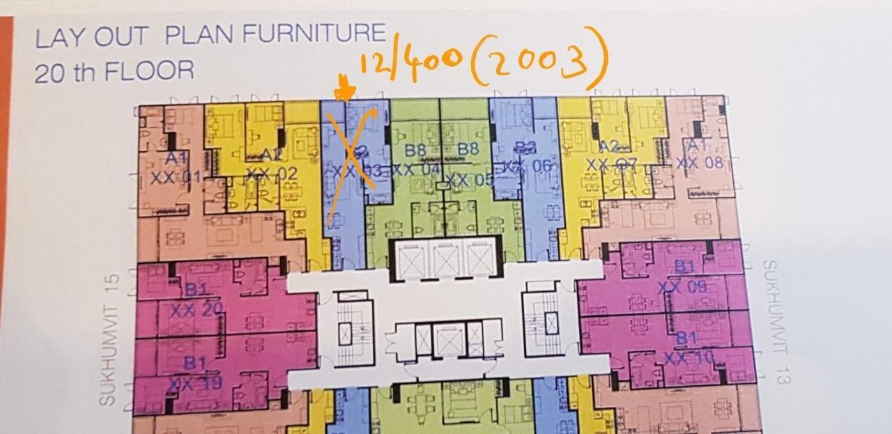 Property Thai Sale Agency's 15 Residence Sukhumvit 13