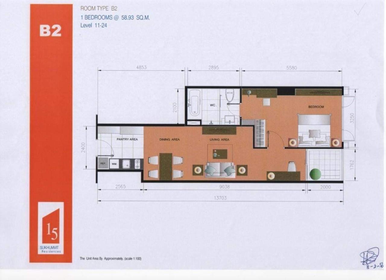 Property Thai Sale Agency's 15 Residence Sukhumvit 12