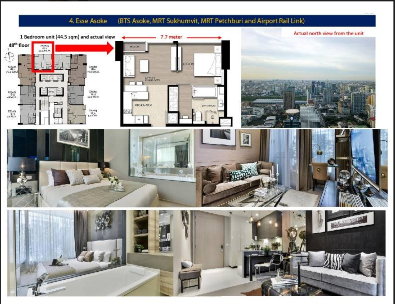 Property Thai Sale Agency's THE ESSE ASOKE 1