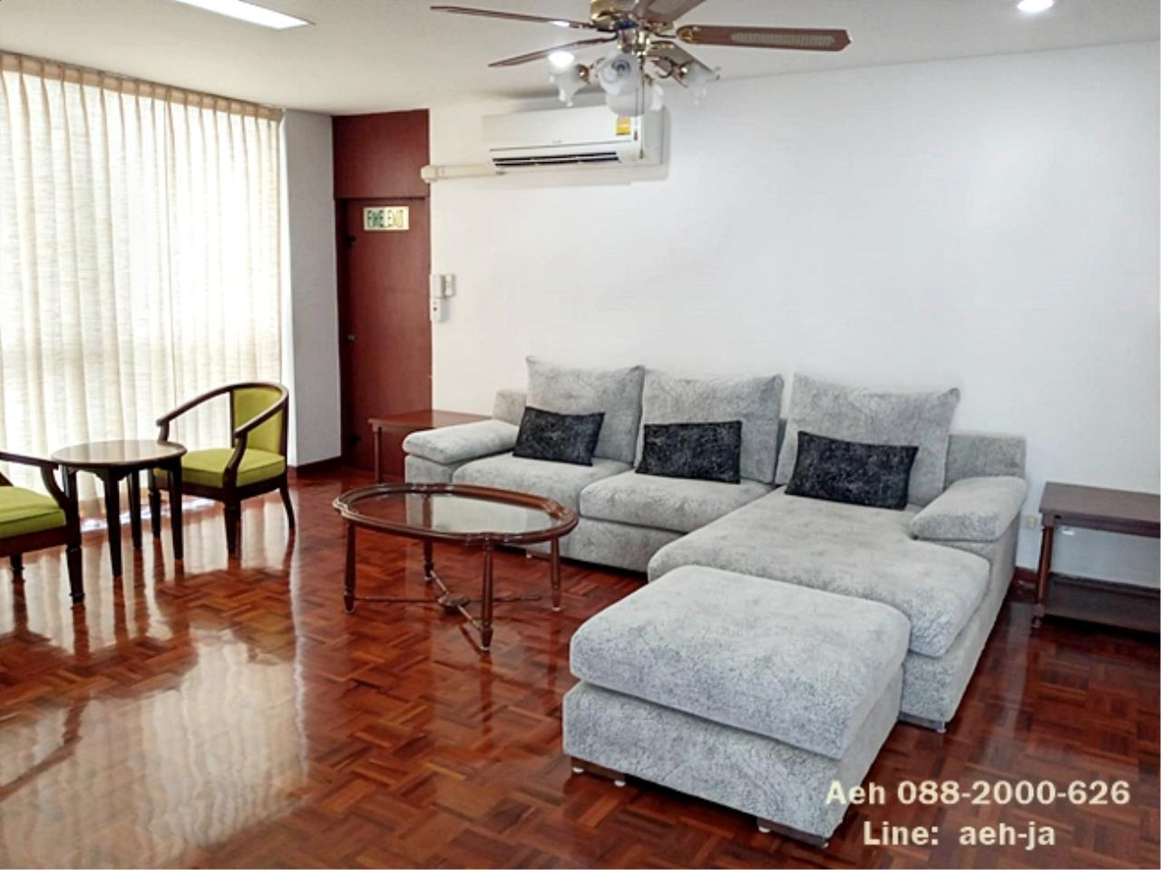 Agent - Aeh Pattanapaisal Agency's Pet Friendly!! Tubtim Mansion, 2 bedrooms for rent, BTS Phrom Phong THB 45,000/month 1