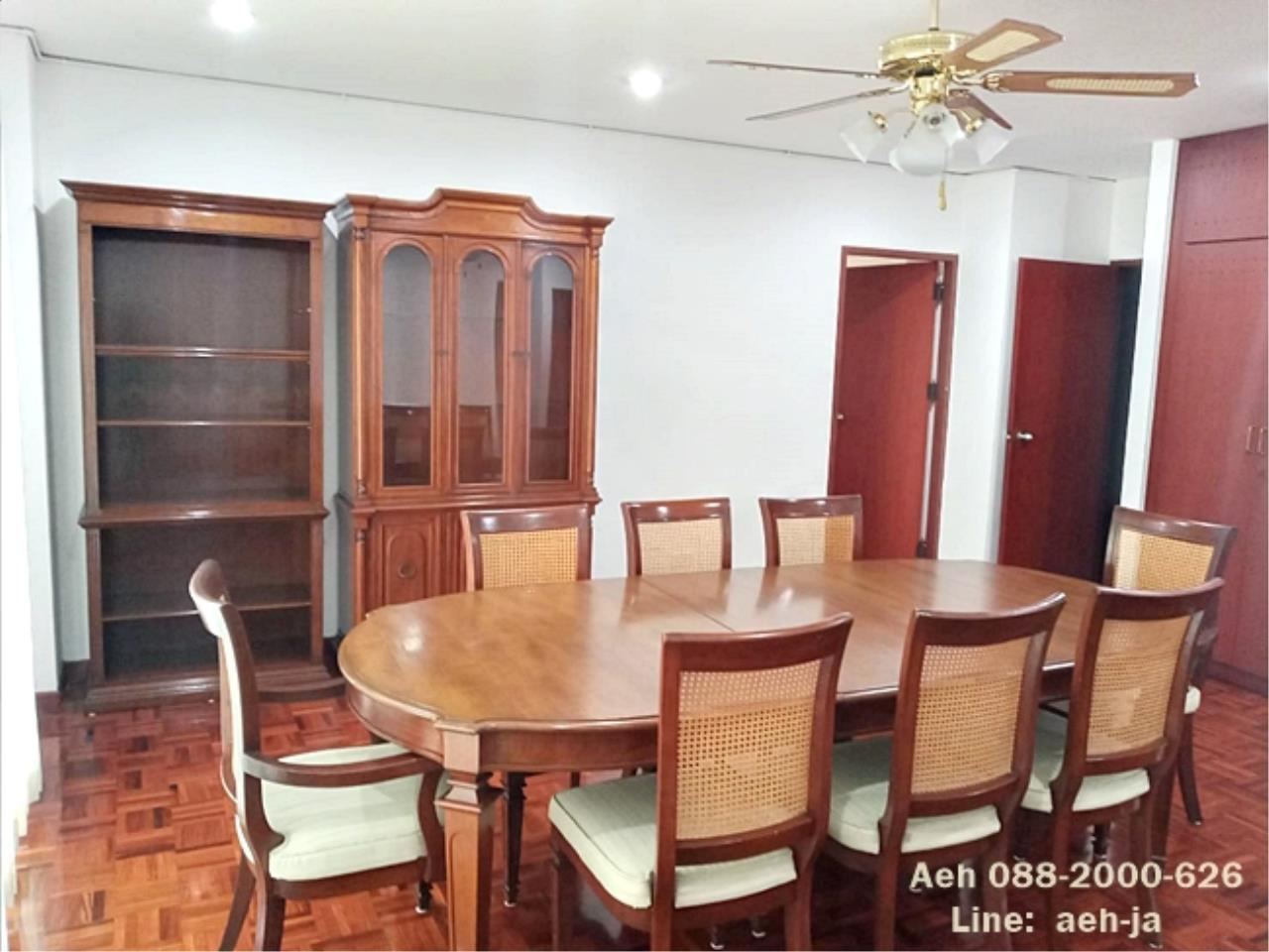 Agent - Aeh Pattanapaisal Agency's Pet Friendly!! Tubtim Mansion, 2 bedrooms for rent, BTS Phrom Phong THB 45,000/month 4
