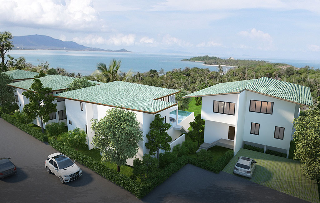 RE/MAX Island Real Estate Agency's Samui Sunset Lagoon Estate Ref:0127V-PL 2