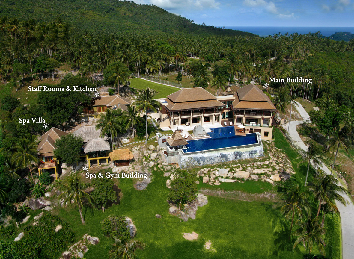 RE/MAX Island Real Estate Agency's Unique Private Estate, 8 bedroom, 11 bathroom,Koh Samui, Thailand 1