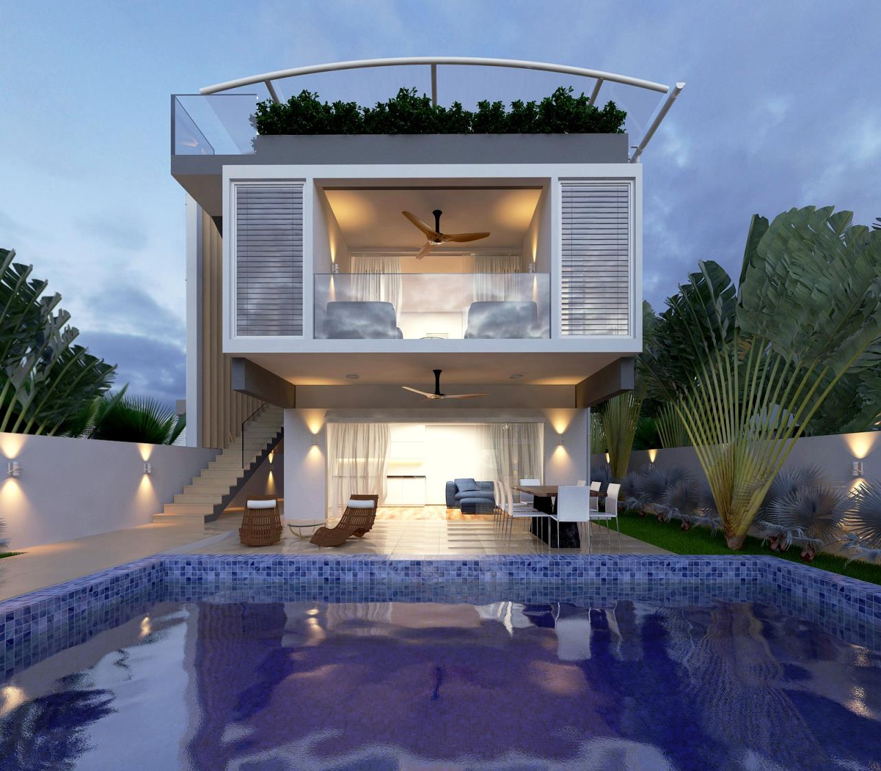RE/MAX Island Real Estate Agency's 3 Bedroom villa for sale in Maenam 1