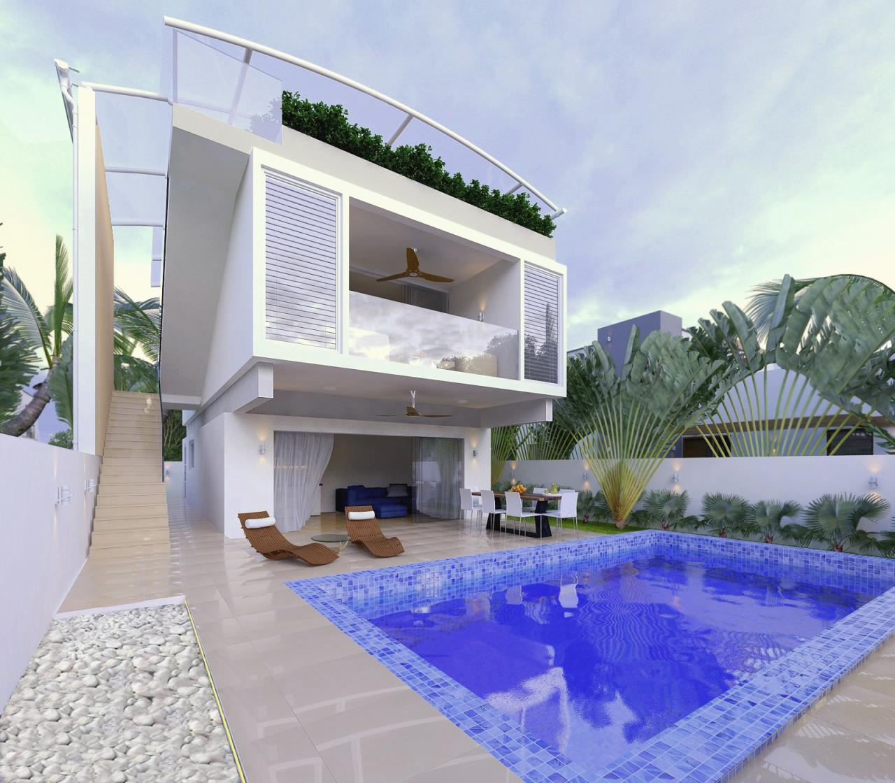 RE/MAX Island Real Estate Agency's 3 Bedroom villa for sale in Maenam 2