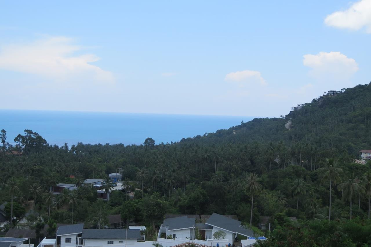 RE/MAX Island Real Estate Agency's Chaweng Sea View Land. Perfect for your private villa.  2