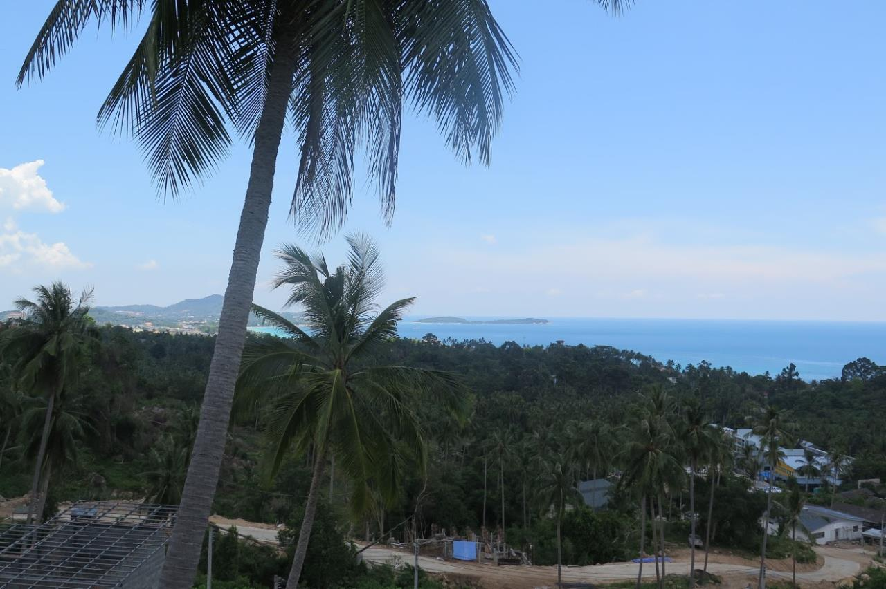 RE/MAX Island Real Estate Agency's Chaweng Sea View Land. Perfect for your private villa.  5