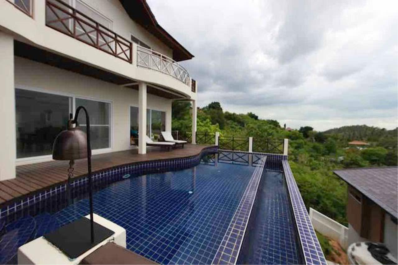 RE/MAX Island Real Estate Agency's Bophut Sea View Villa for Sale 12