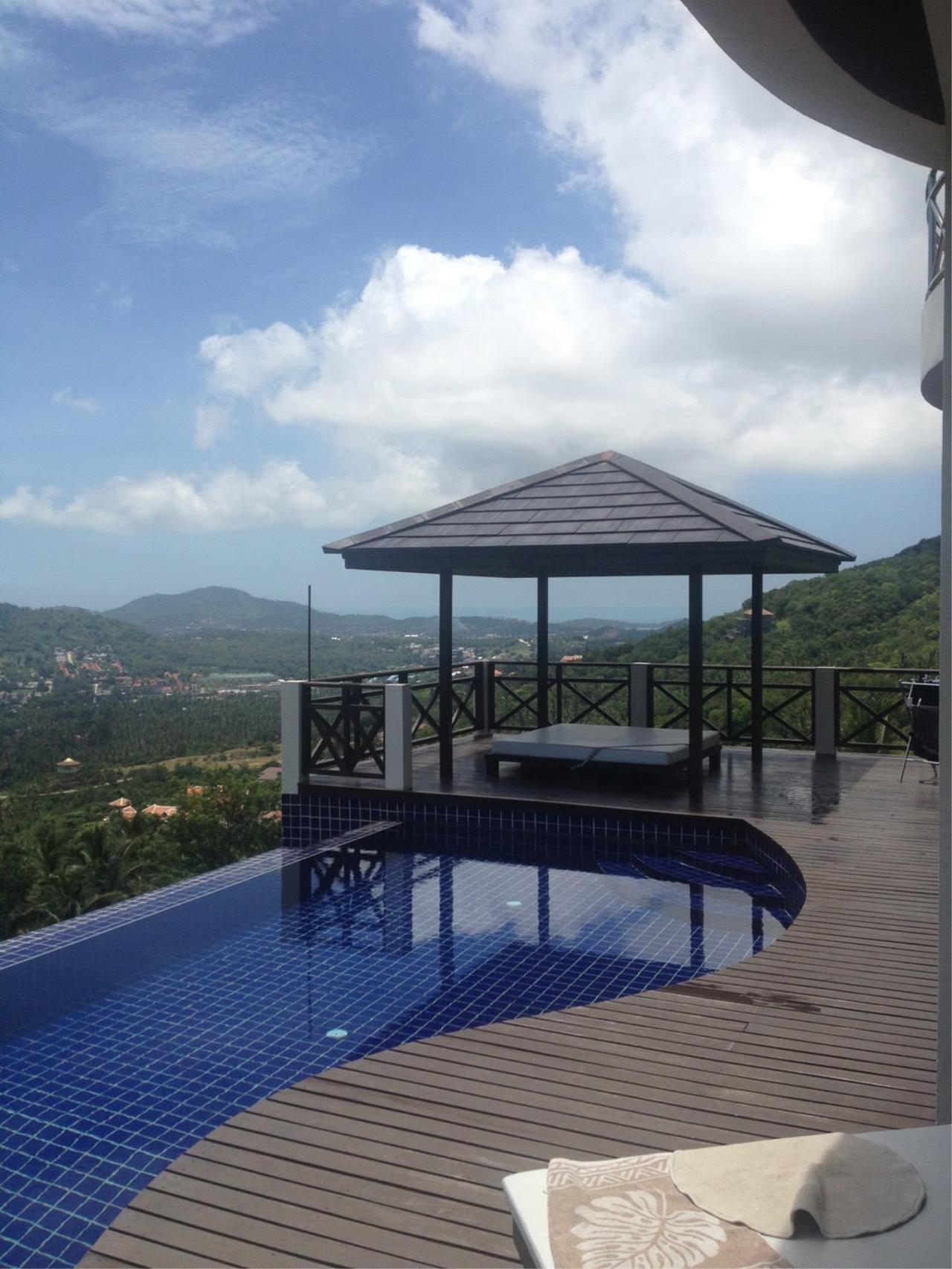RE/MAX Island Real Estate Agency's Bophut Sea View Villa for Sale 13