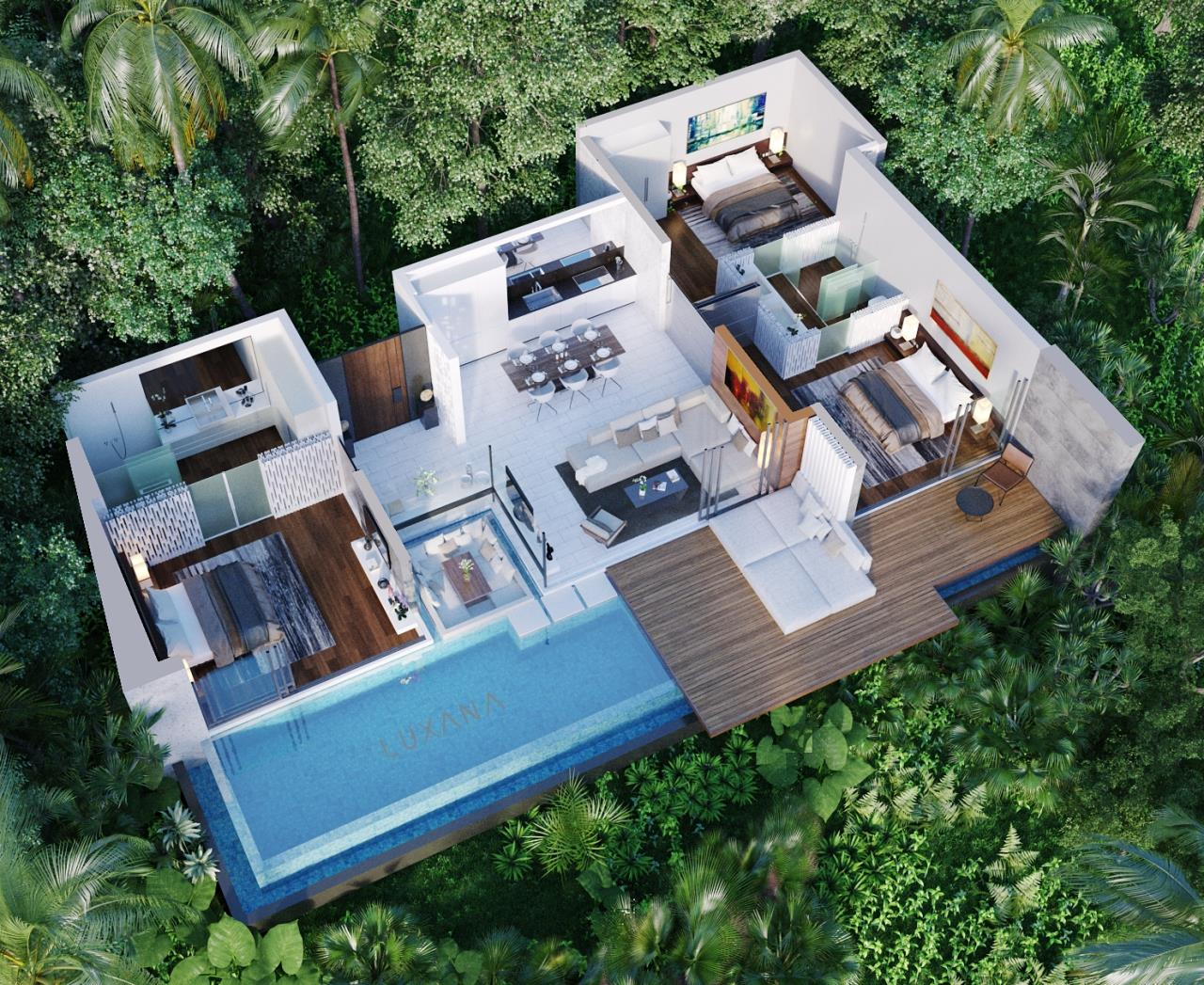 RE/MAX Island Real Estate Agency's EM010 - Stunning Ocean View Villas in Bophut for Sale -Excellent Investment Opportunity 17