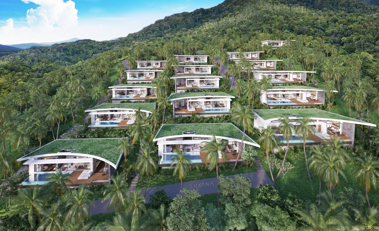 RE/MAX Island Real Estate Agency's EM010 - Stunning Ocean View Villas in Bophut for Sale -Excellent Investment Opportunity 15