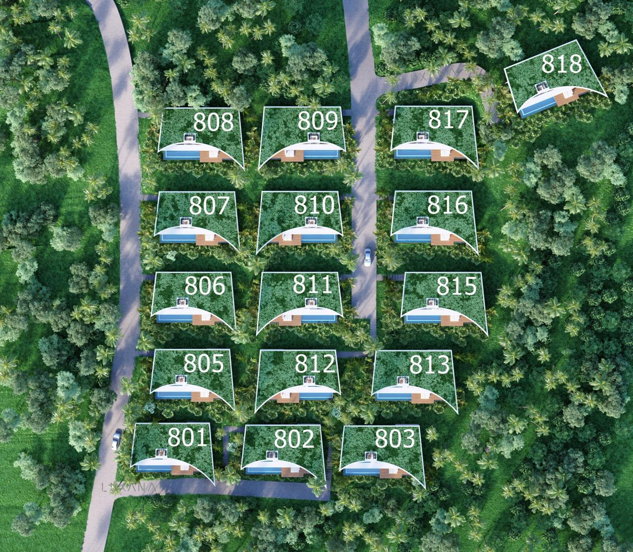RE/MAX Island Real Estate Agency's EM010 - Stunning Ocean View Villas in Bophut for Sale -Excellent Investment Opportunity 16