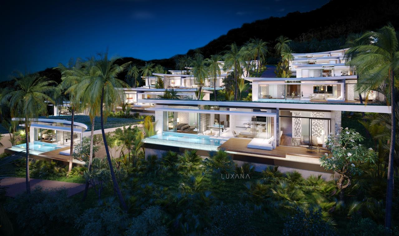 RE/MAX Island Real Estate Agency's EM010 - Stunning Ocean View Villas in Bophut for Sale -Excellent Investment Opportunity 2