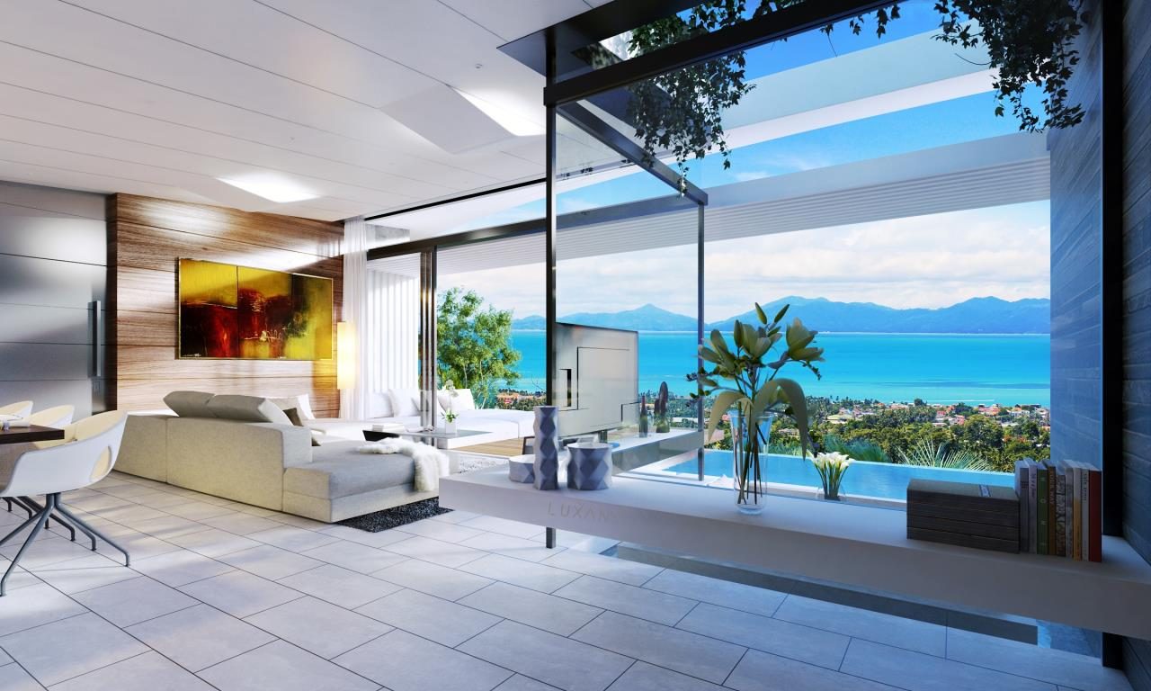 RE/MAX Island Real Estate Agency's EM010 - Stunning Ocean View Villas in Bophut for Sale -Excellent Investment Opportunity 10