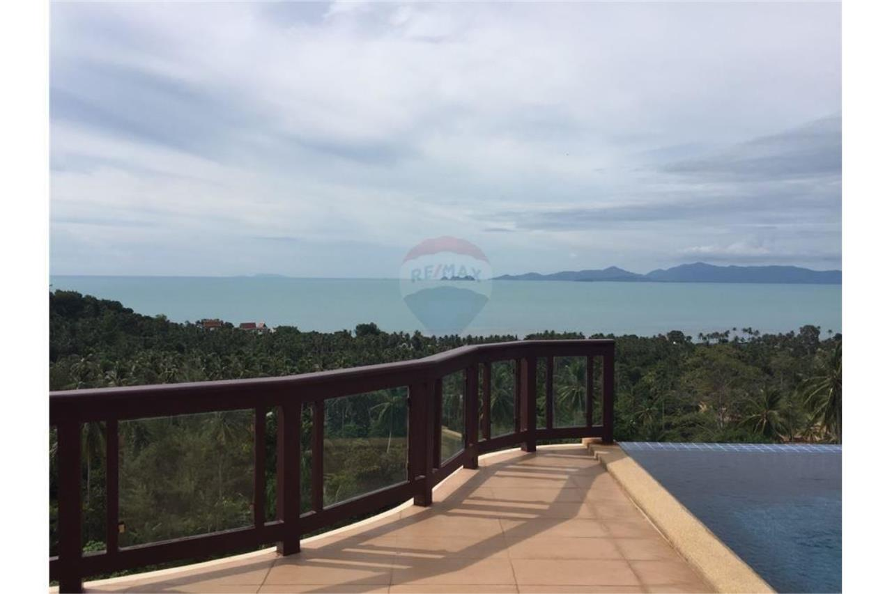 RE/MAX Island Real Estate Agency's Sea View Pool Villa for sale in Bangpor, Koh Samui 3