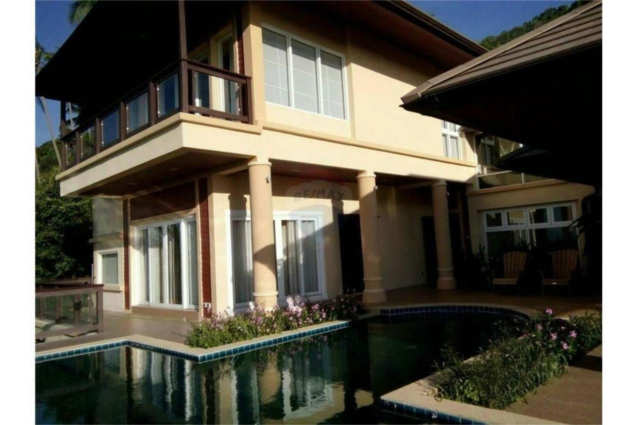 RE/MAX Island Real Estate Agency's Sea View Pool Villa for sale in Bangpor, Koh Samui 1