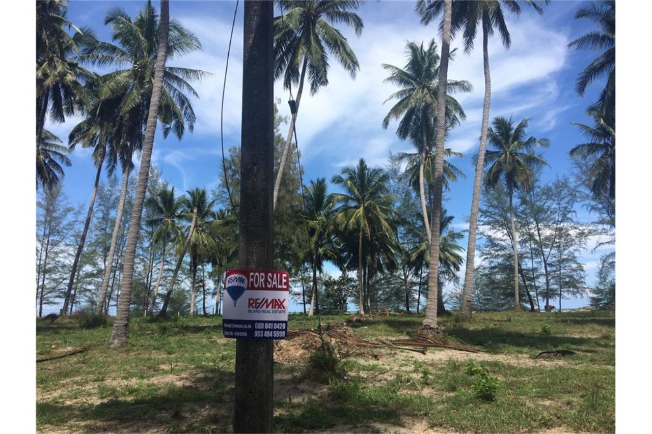 RE/MAX Island Real Estate Agency's Beach land for sale in Tha Sala 9