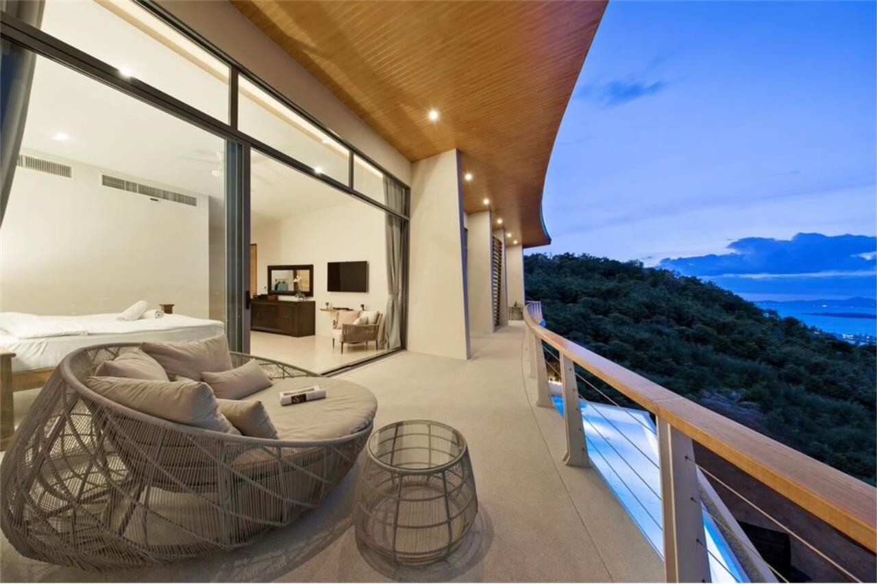 RE/MAX Island Real Estate Agency's Contemporary Villa with Panoramic View in Ko Samui 43
