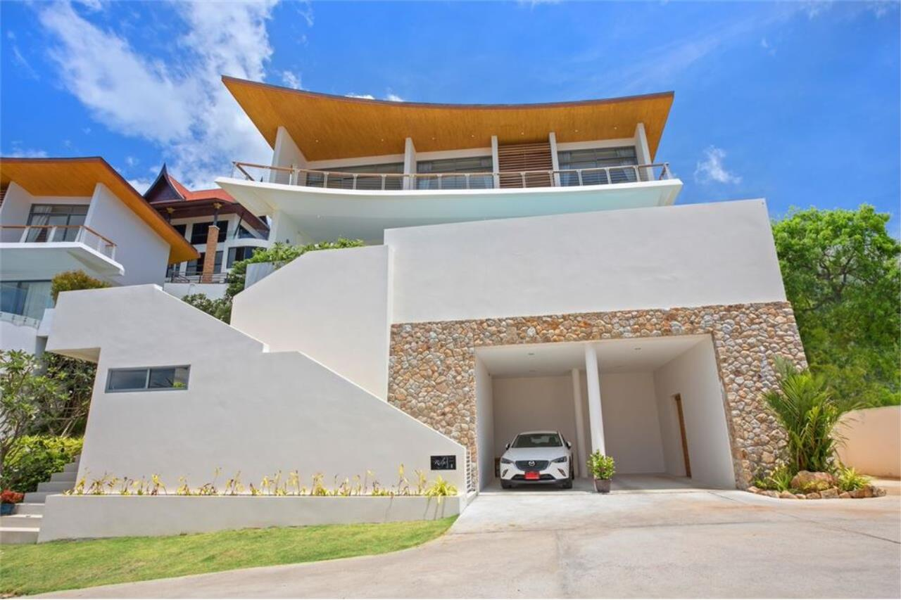 RE/MAX Island Real Estate Agency's Contemporary Villa with Panoramic View in Ko Samui 4
