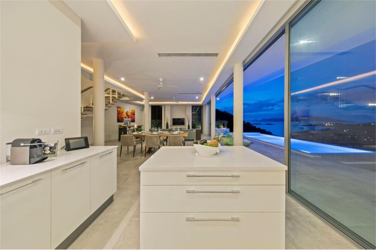 RE/MAX Island Real Estate Agency's Contemporary Villa with Panoramic View in Ko Samui 45
