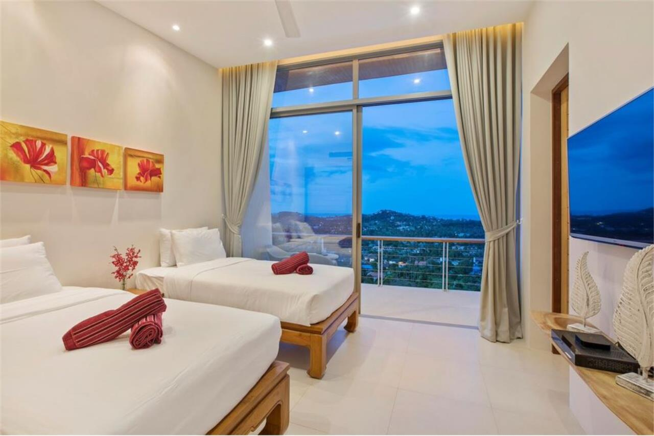 RE/MAX Island Real Estate Agency's Contemporary Villa with Panoramic View in Ko Samui 40