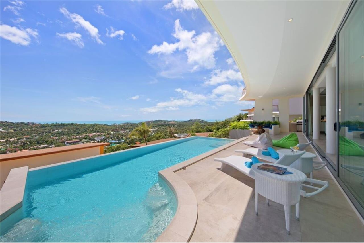 RE/MAX Island Real Estate Agency's Contemporary Villa with Panoramic View in Ko Samui 3