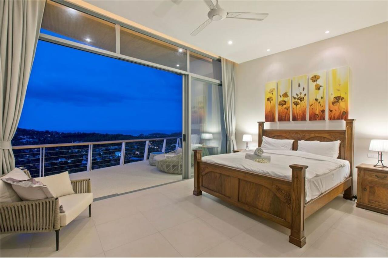 RE/MAX Island Real Estate Agency's Contemporary Villa with Panoramic View in Ko Samui 42