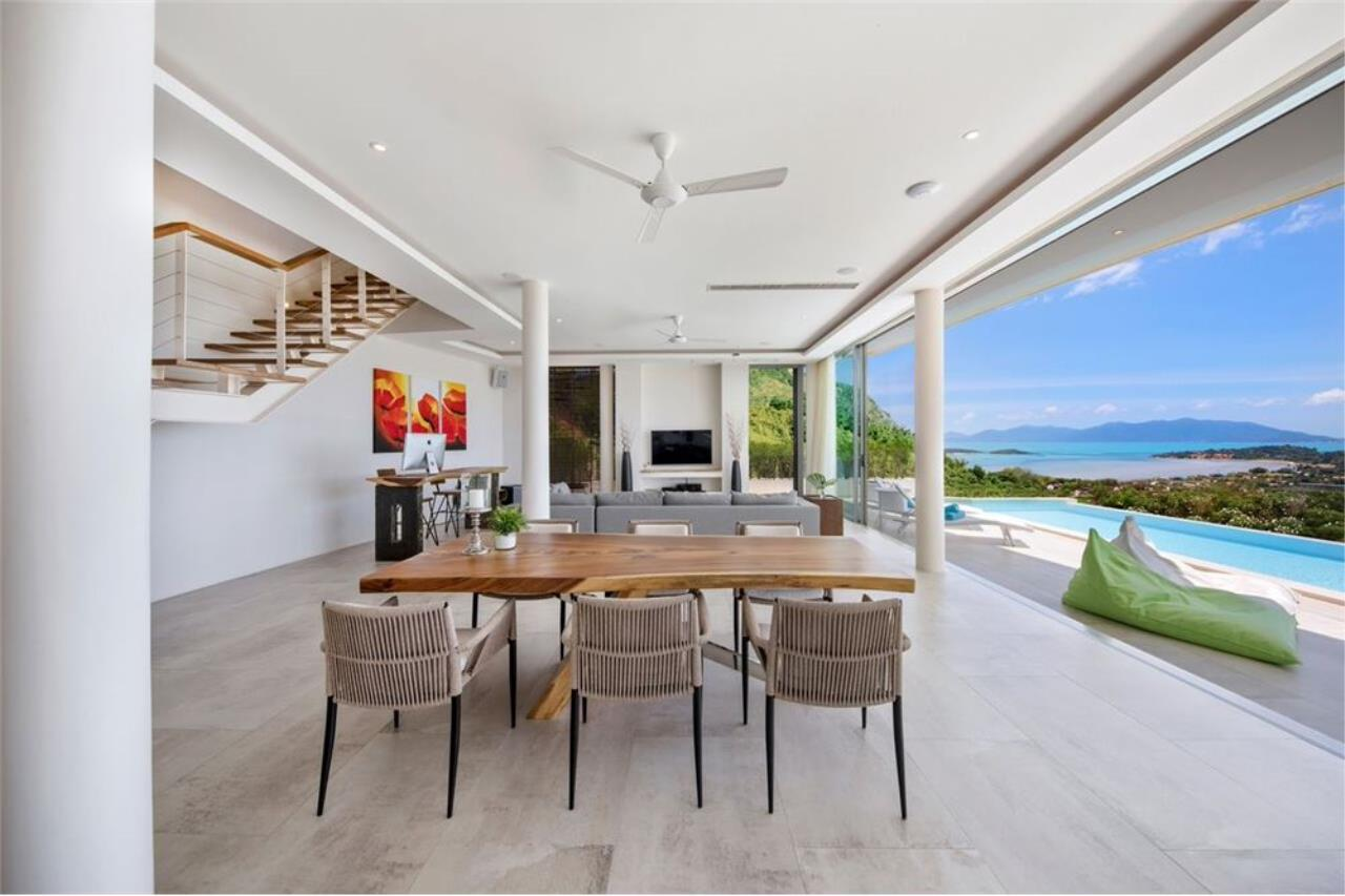 RE/MAX Island Real Estate Agency's Contemporary Villa with Panoramic View in Ko Samui 13