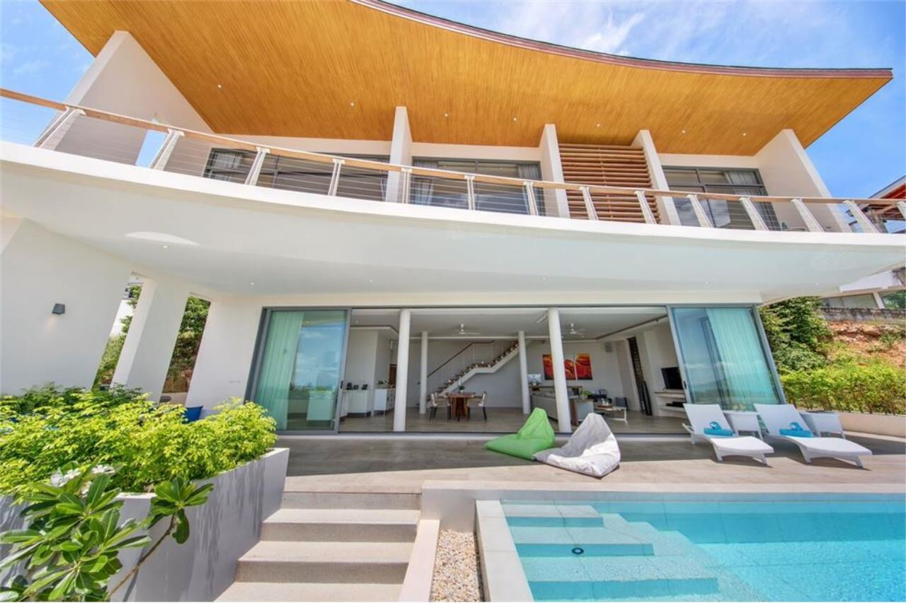 RE/MAX Island Real Estate Agency's Contemporary Villa with Panoramic View in Ko Samui 2