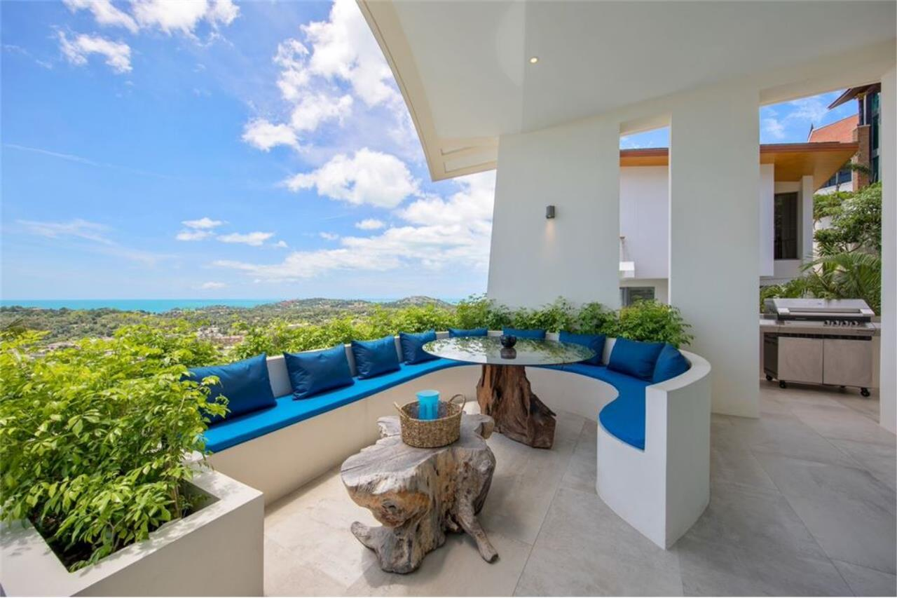 RE/MAX Island Real Estate Agency's Contemporary Villa with Panoramic View in Ko Samui 9