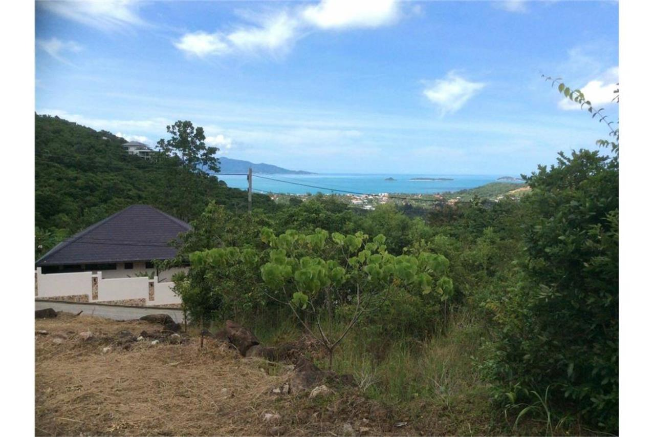 RE/MAX Island Real Estate Agency's Seaview Plot in an Exclusive Area, Bophut Hill 1